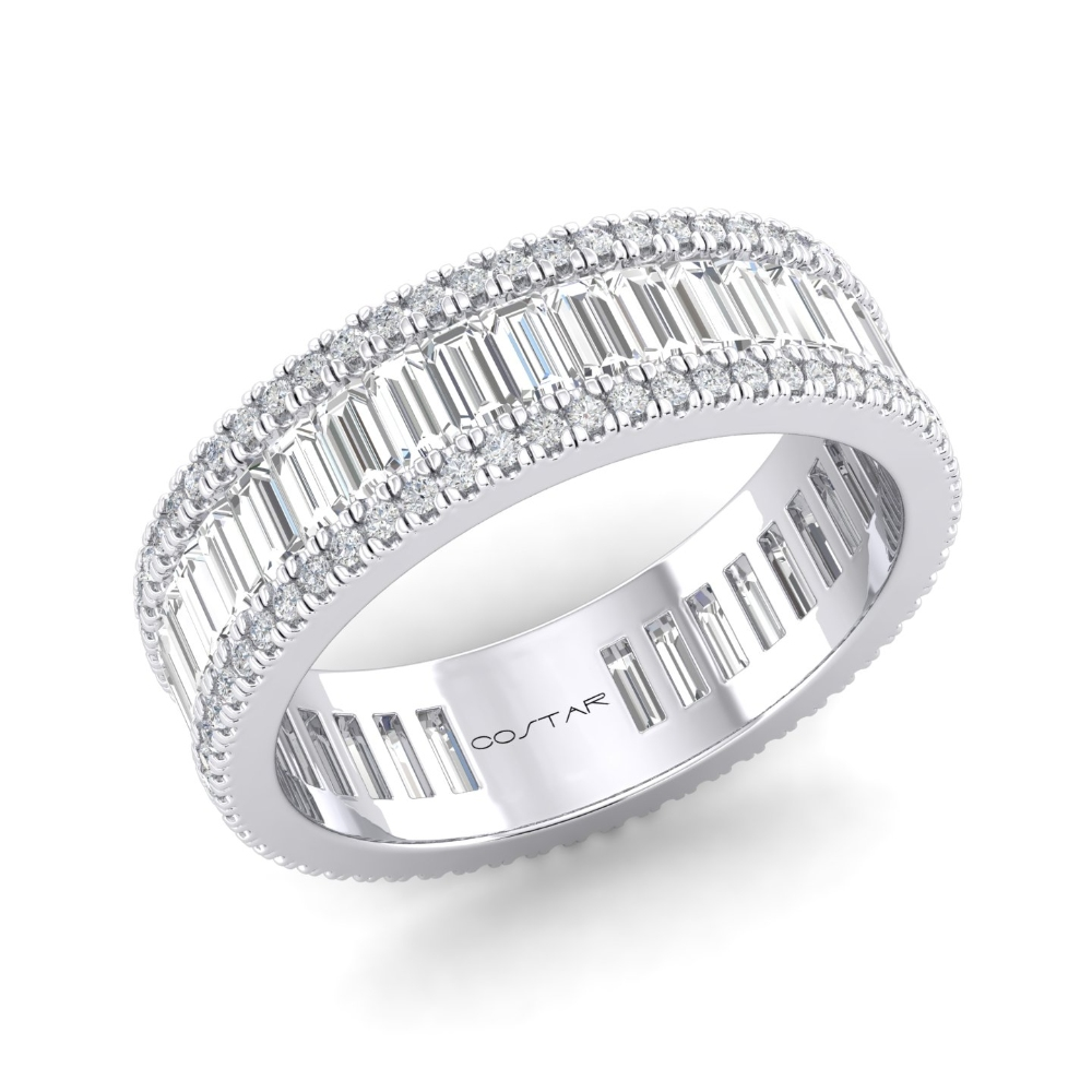 Baguette Eternity Bands