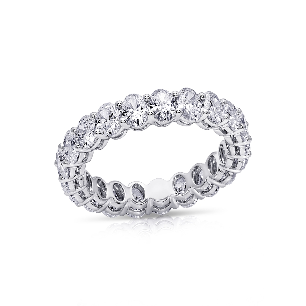 Oval Eternity Bands