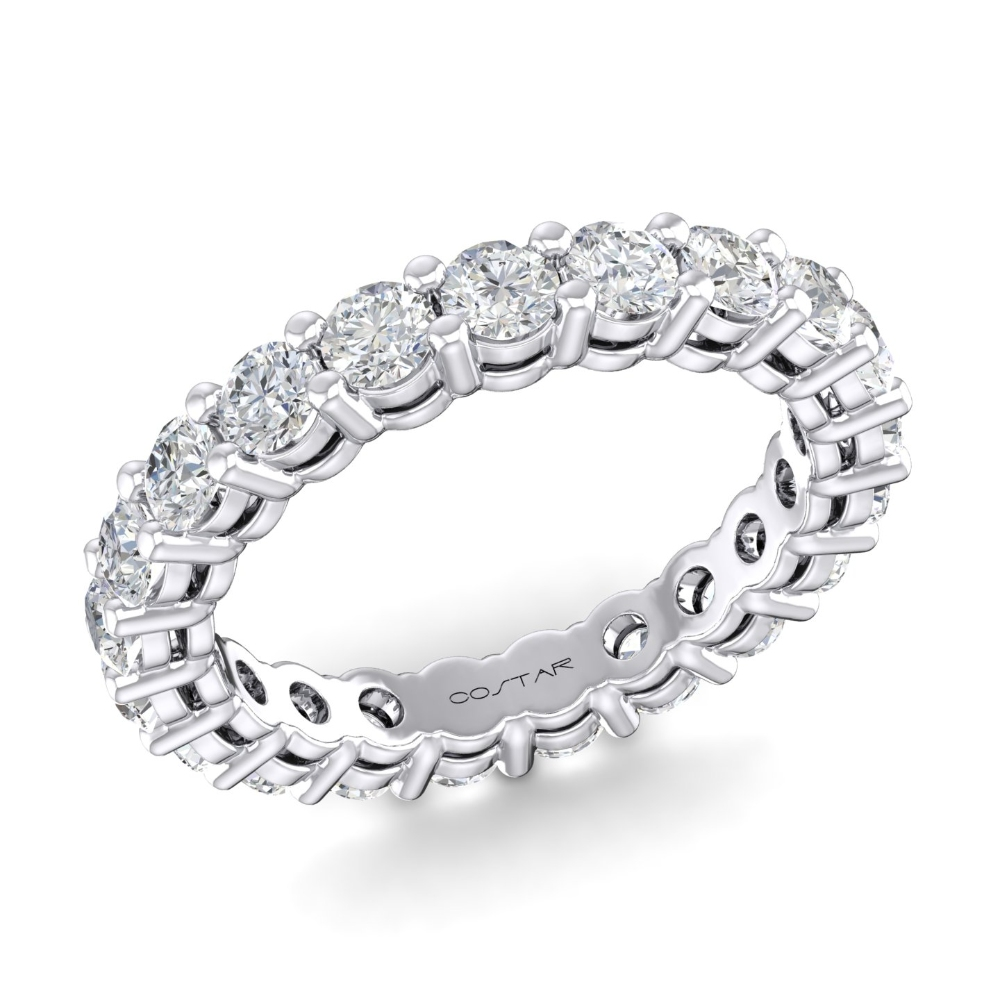 Round Eternity Bands