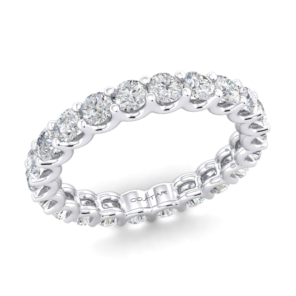 U-Prong Eternity Bands